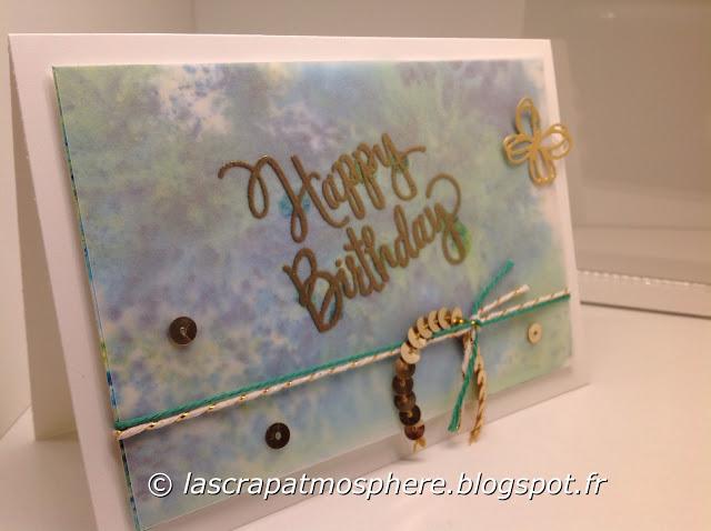Carte anniversaire Catherin Lemonnier