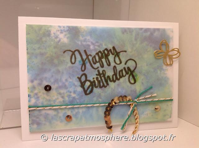Carte anniversaire Catherine Lemonnier